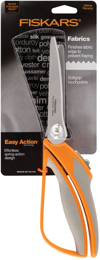 "Fiskars Easy Action Pinking Shears 10.5"""