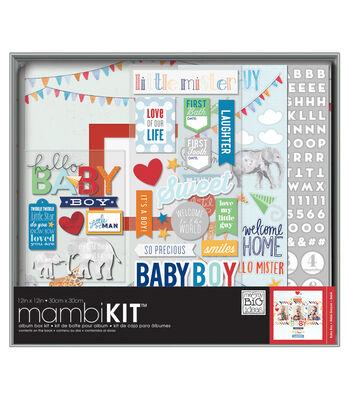 "Me & My Big Ideas Boxed Album Kit 12""X12""-Cool Baby Boy"