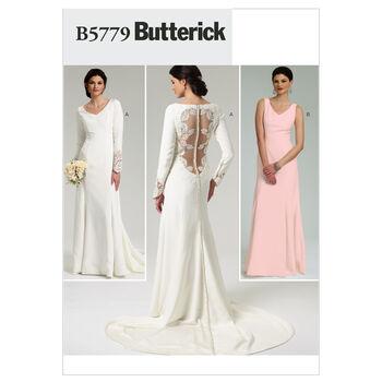 Butterick Misses Bridal-B5779