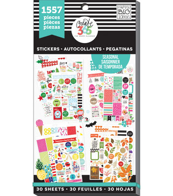 Create 365 The Happy Planner™ Sticker Sheets-Seasonal