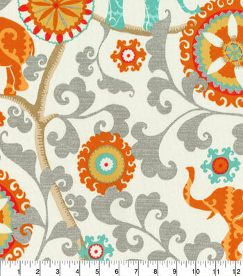 P/K Lifestyles Outdoor Print Fabric 54''-Menagerie Cayenne