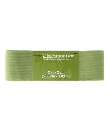Dritz® 2'' Soft Waistband Elastic-Green