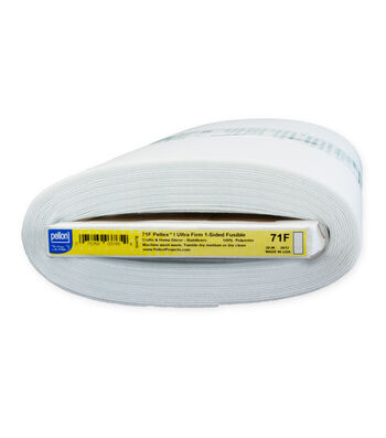 "Pellon 71F Peltex I One-Sided Fusible, White 20"" x 10yds bolt"