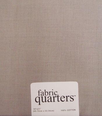 Fabric-Quarters Cotton Fabric-Solids Gray