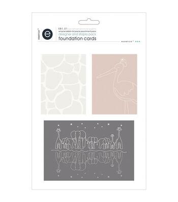 Empire Bebe Foundation Cards 54/Pkg-Designer & Basic