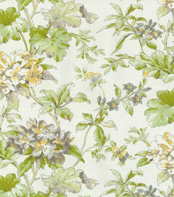 """Waverly Upholstery Fabric 54""""-Fawn Hill Platinum"""