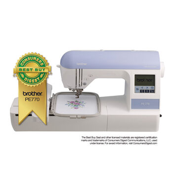 Brother PE770 Embroidery Machine
