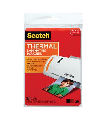 Scotch Thermal Pouches 5x7