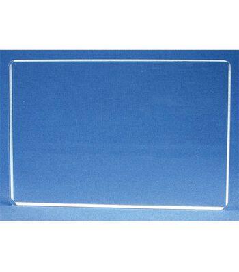 Acrylic Stamp Block 4X6-4x6x.5