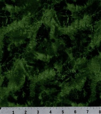 Keepsake Calico Cotton Fabric 44''-Hunter Marbled Texture