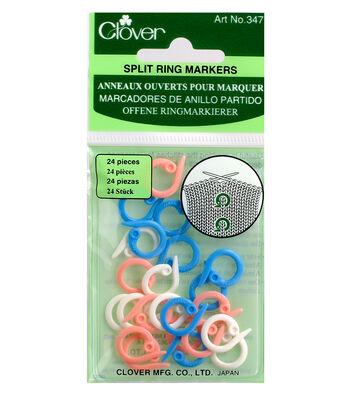 Clover Split Ring Markers 24/pkg