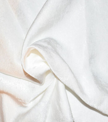 """Silky Sanded Satin Fabric 58""""-White"""