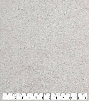 """Fashion Faux Fur Fabric 57""""-Gold Sherpa"""