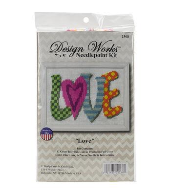 Design Works Love Needlepoint Kit
