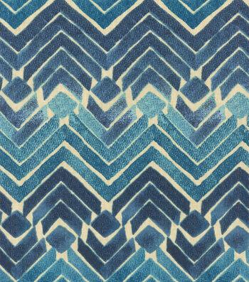 "Kelly Ripa Upholstery Fabric 54""-Zen Blend Indigo"
