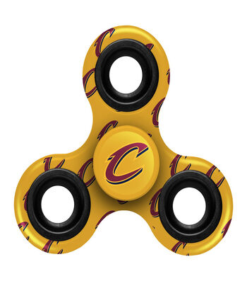 Cleveland Cavaliers Diztracto Spinnerz-Three Way Fidget