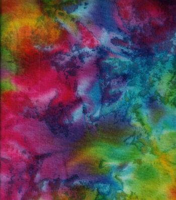 "Snuggle Flannel Print Fabric 42""-Classic Tie Dye"