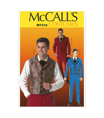 McCall's Mens Historical Costumes-M7216