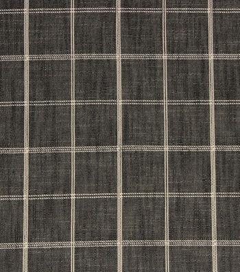 "Richloom Studio® Multi-Purpose Decor Fabric 56""-Petersburg/Charcoal"