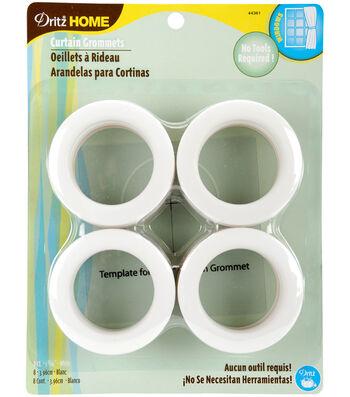 Dritz Home 1.56'' Curtain Grommets 8pcs Brass