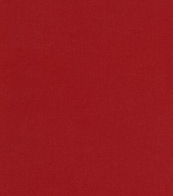 "Waverly Upholstery Fabric 57""-Sherwood Twill Cranberry"