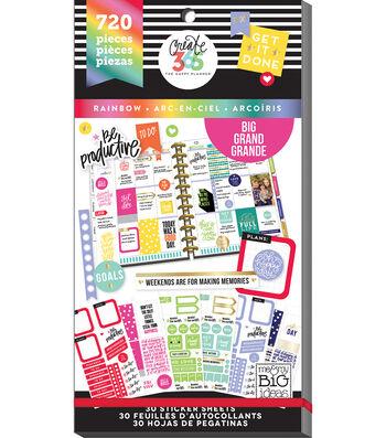 The Happy Planner Sticker Value Pack-Big ROYGBIV