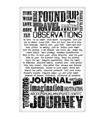 Tim Holtz Idea-Ology Remnant Rubs Rub-Ons Words