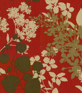 """Solarium Outdoor Fabric 54""""-Montfleuri Sangria"""