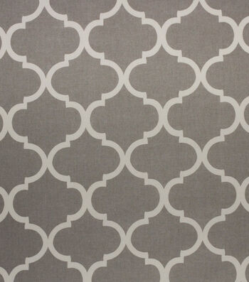 Home Decor Multi-Purpose Decor Decor Fabric - Bishop Grey