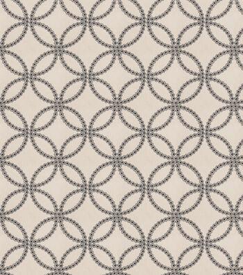 "Eaton Square Print Fabric 51""-Alana/Navy"