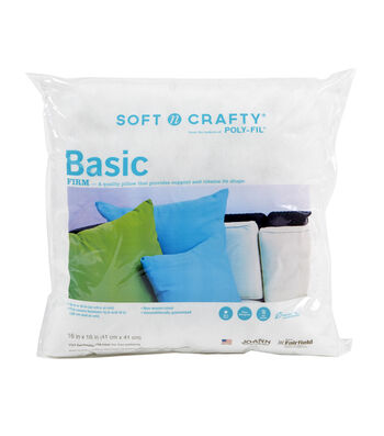 "Soft N Crafty Basic 16"" x 16"" Pillow"