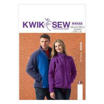 Kwik Sew Pattern K4032 Adult Outerwear