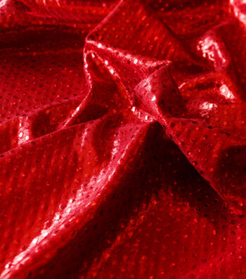 """Performance Ultimate Poly Spandex Fabric 59""""-Volcano Red"""