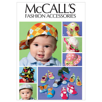McCall's Infants Headgear-M6575