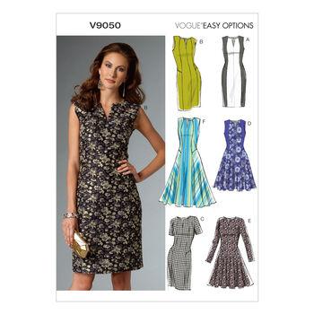 Vogue Patterns Misses Dress-V9050