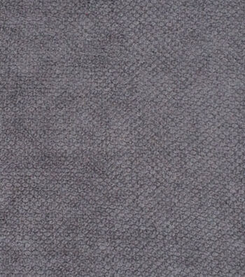 "Signature Series Lightweight Decor Chenille Fabric 54""-Dark Gray"