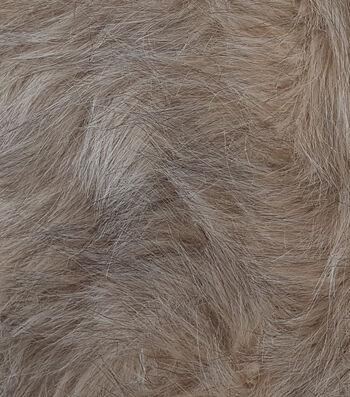 """Fashion Faux Fur Fabric 57""""-Blonde Wolf"""