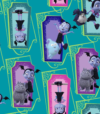 Disney Vampirina Cotton Fabric 43''-Supernatural Friends