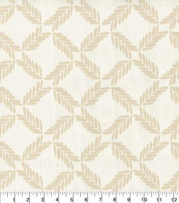 Ellen DeGeneres Upholstery Fabric 54''-Parchment Lookout Lattice