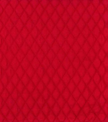 "Country Classic Double Faced Quilt Cotton Fabric 42""-Scarlet Diamond"