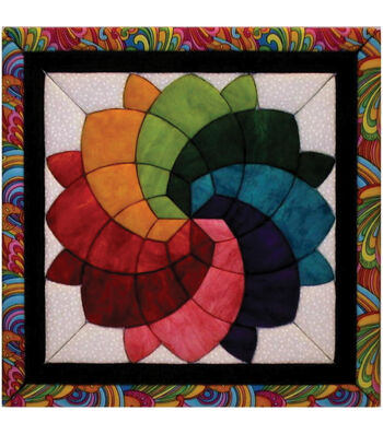 "Blossom Quilt Magic Kit-12""X12"""