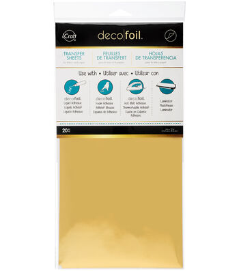 Deco Foil Transfer Sheet