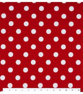 Keepsake Calico™ Cotton Fabric 44''-Large Dots On Lipstick