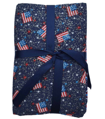 "Fat Quarter Bundle Cotton Fabric 18""-Patriotic"