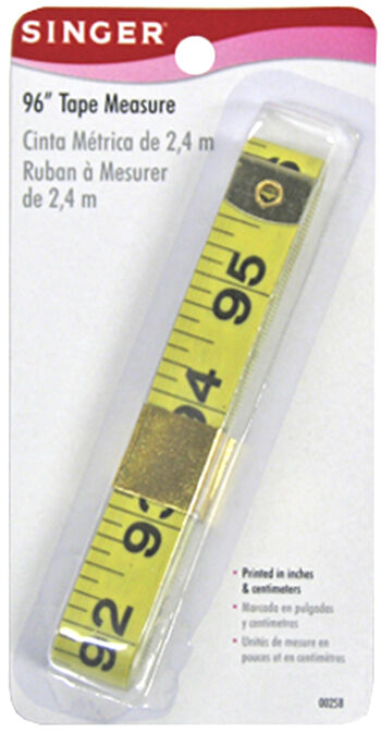 Singer Vinyl Tape Measure-96""