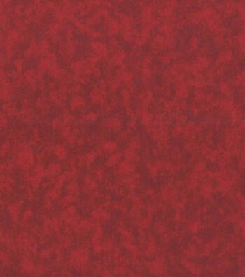 "Keepsake Calico™ Cotton Fabric 44""-Red Marble"
