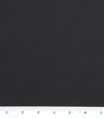 Apparel Lining Stretch Fabric 59''-Anti-Static Black
