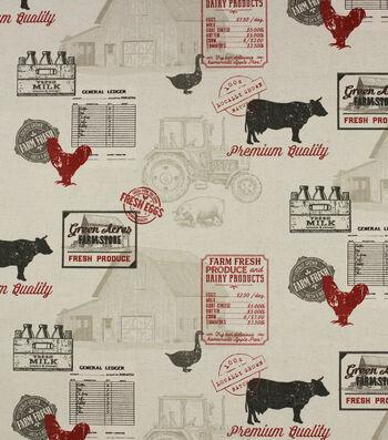 "Hudson 43 Print Fabric-54""-Huddersfeild Linen Farmhouse"