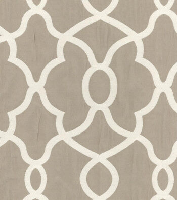 """Kelly Ripa Upholstery Fabric 56""""-Clearly Cool Stone"""