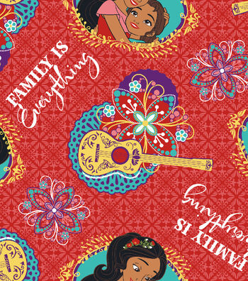 Disney® Elena of Avalor Cotton Fabric 43''-Family Is Everything